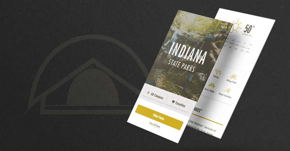 Indiana State Parks App | Interactive Design